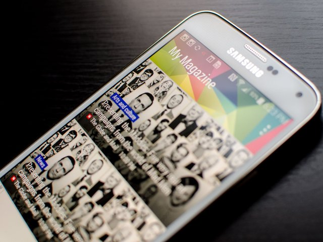 How to disable My Magazine on the Samsung Galaxy S5