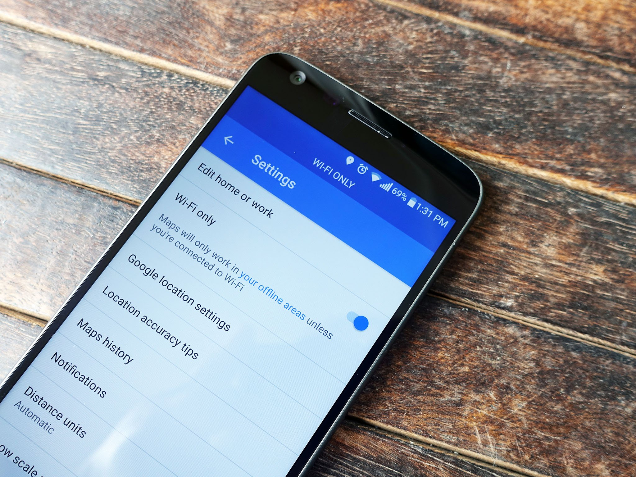 Google Maps Gets Wi Fi Only Mode Ability To Save Offline