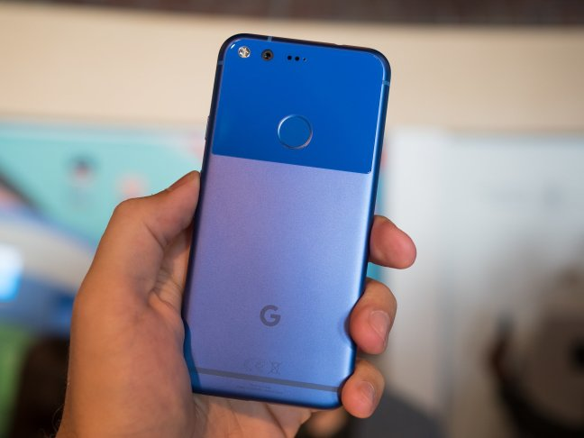 google-pixel-hardware-09 Really blue wallpapers for a Really Blue Pixel Android