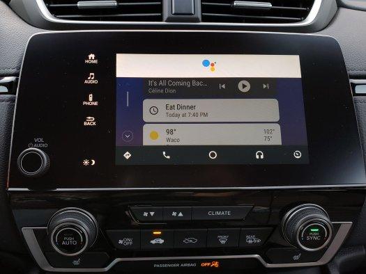Android Auto Google Assistatn
