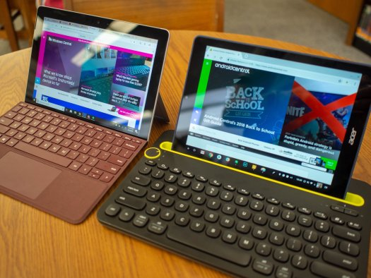 Surface Go and Pixel Slate