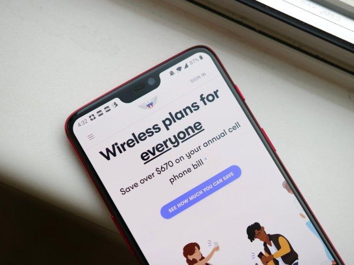 US Mobile website