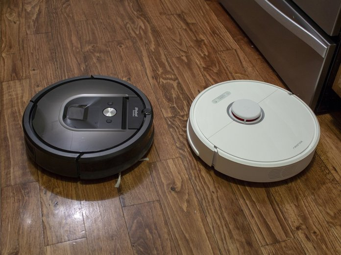 Roomba 980 and Roborock S6