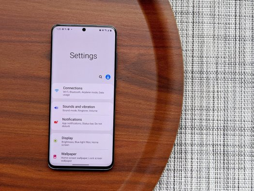 Samsung's software, now with Android 10