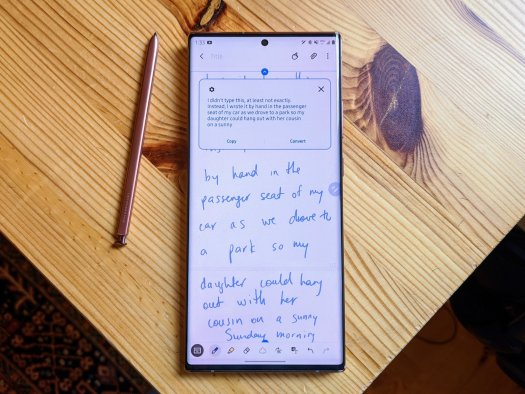 Note 20 Writing Sample
