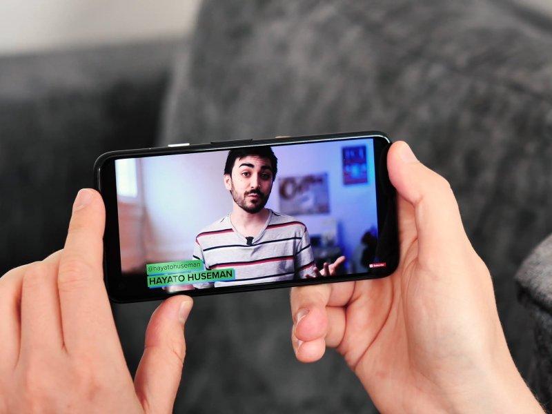 Youtube Watching Video