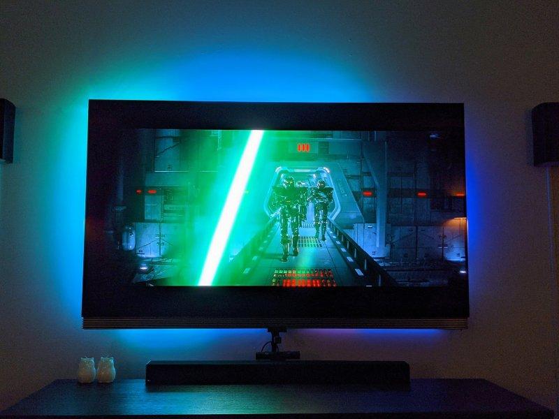 Govee Immersion Tv Lightstrip Lightsaber