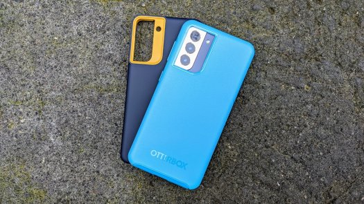 Caseology Nano Pop and OtterBox Symmetry Galaxy S21 Cases