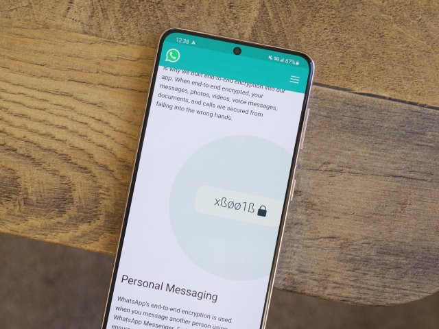 Encryption info about WhatsApp