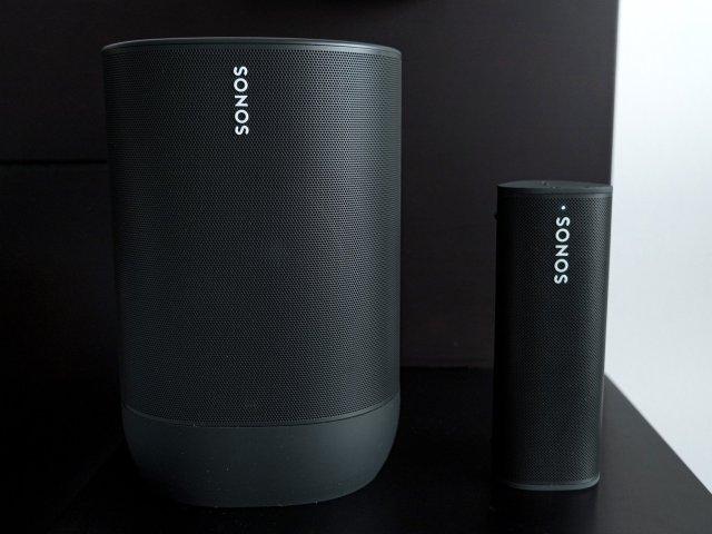 Sonos Move Roam Front