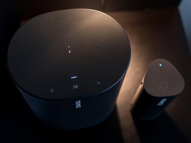 Sonos Move Roam Top