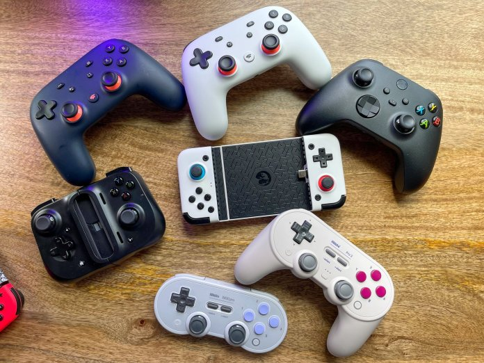 Android game controllers overview