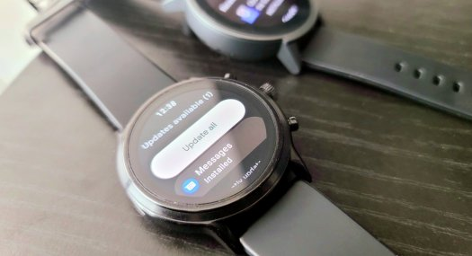 Fossil Gen 5 Wear OS Play Store Redesign