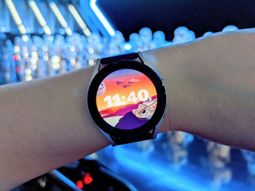 Galaxy Watch 4 Star Wars Face Stormtroopers