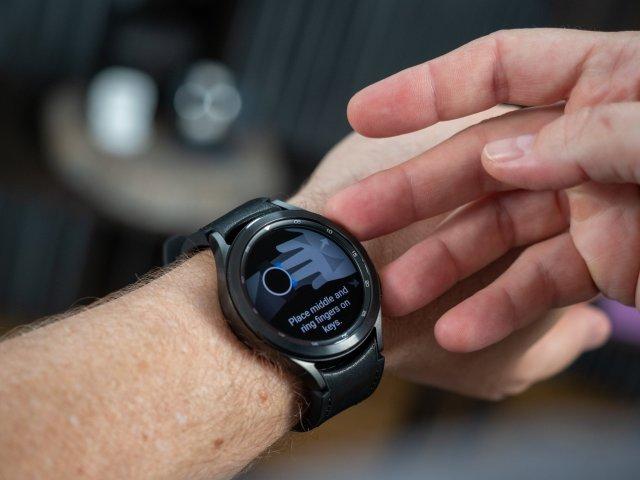 Samsung Galaxy Watch 4 Classic BIA Sensor reading