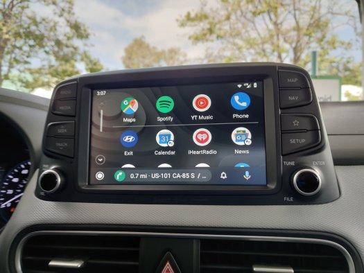 Android Auto app list