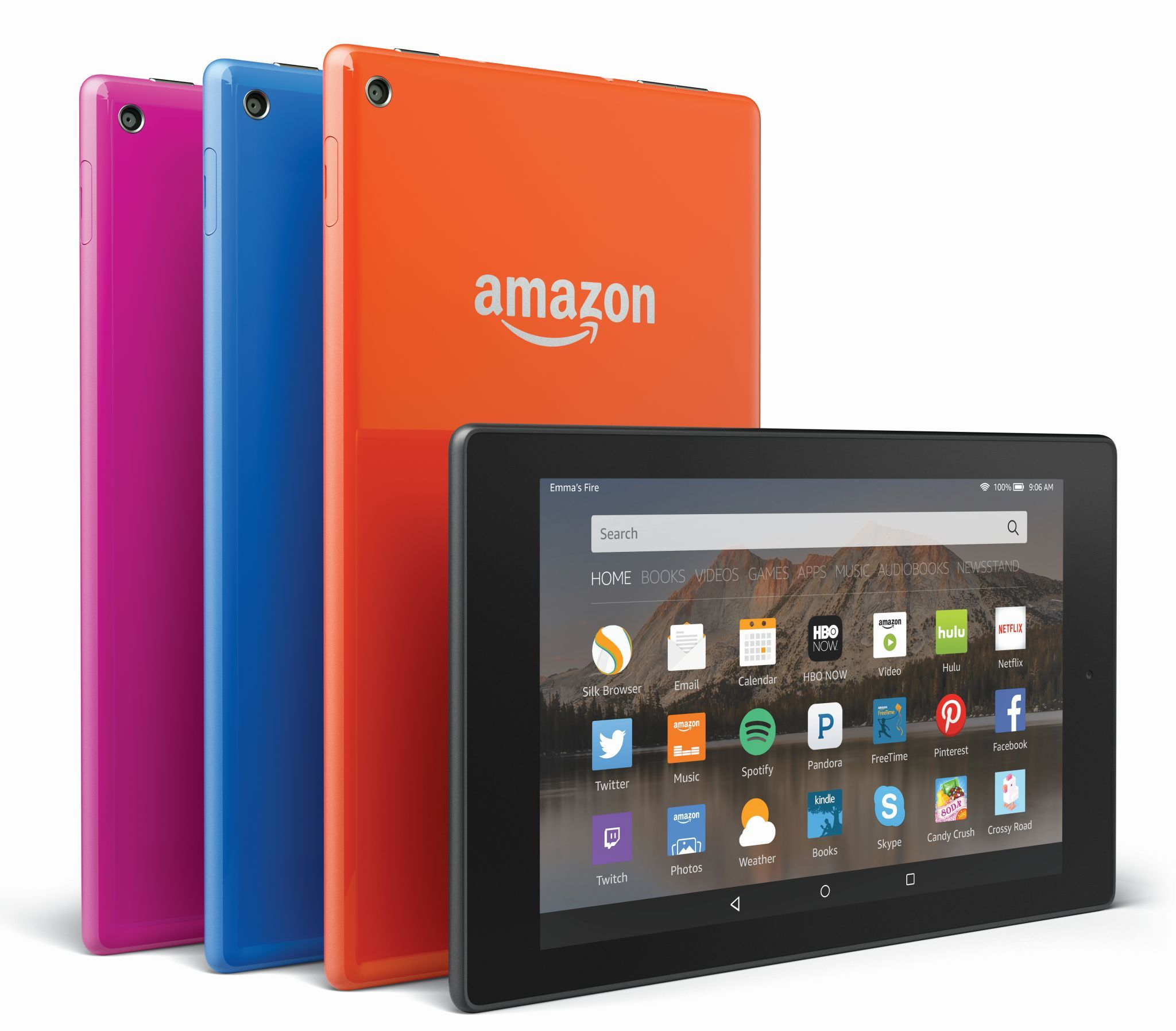 Amazon S New Fire Tablet Lineup Starts With A 7 Inch Model