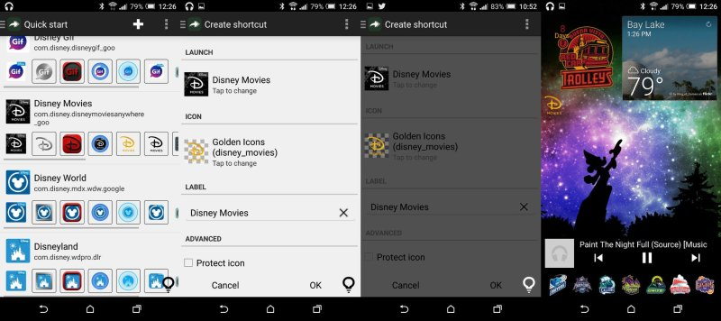 Click a better icon, click create, and enjoy a shiny new shortcut.