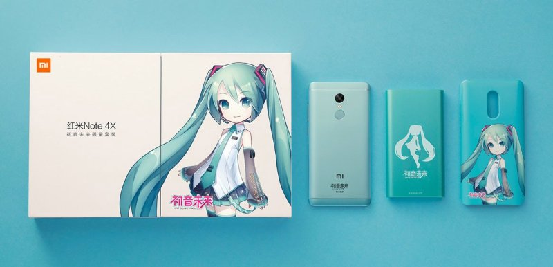 Redmi Note 4X Hatsune Miku
