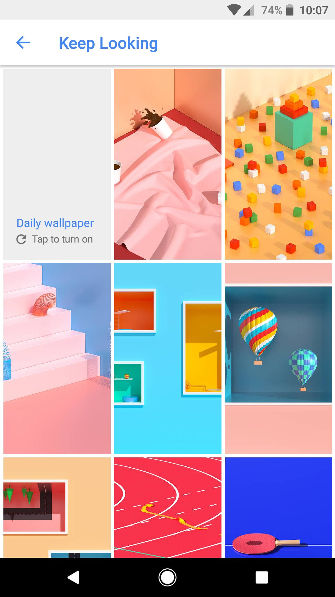Google Pixel Android 2 Wallpaper