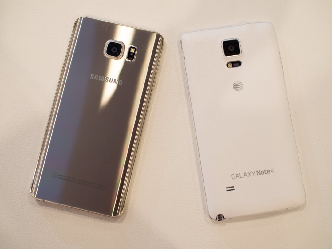 Samsung Galaxy Note 5 and note 4