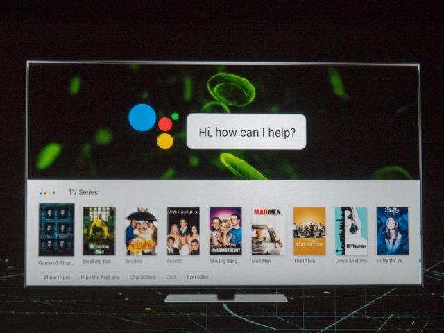NVIDIA Shield Android TV software