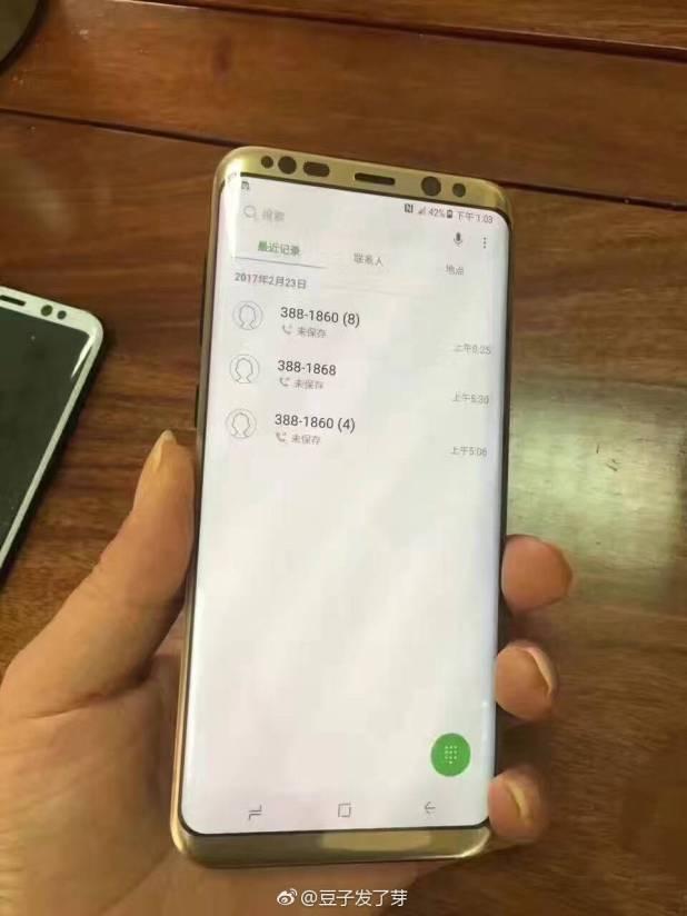 Gold Galaxy S8 Plus