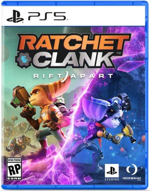 Ratchet And Clank Rift Apart Boxart
