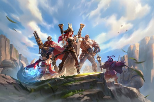 League Of Legends Wild Rift Key Visual