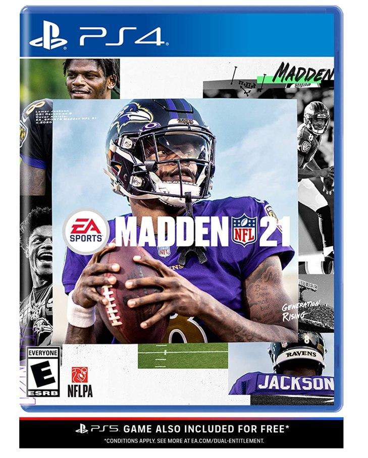 Madden NFL 21 Box Art