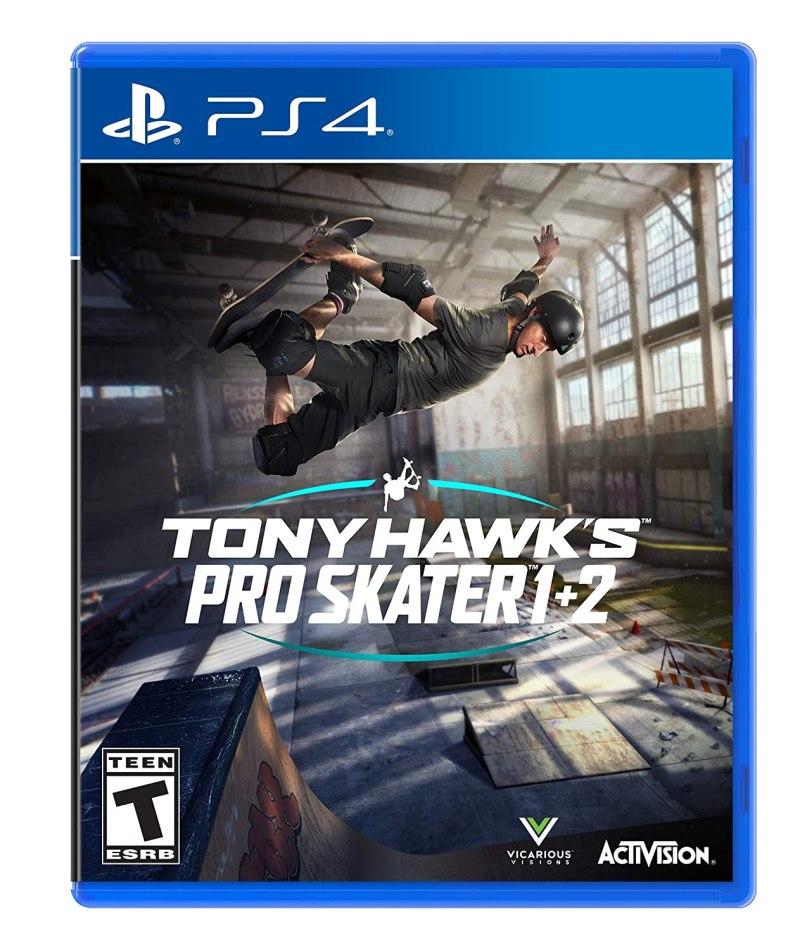 Tony Hawks Pro Skater 1 2 Box Art
