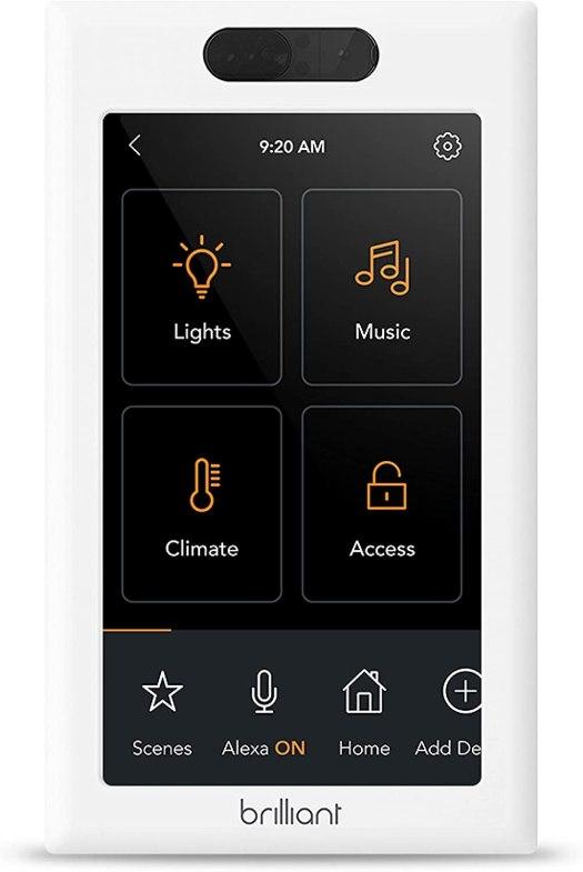 Brilliant Smart Home Control Product Render