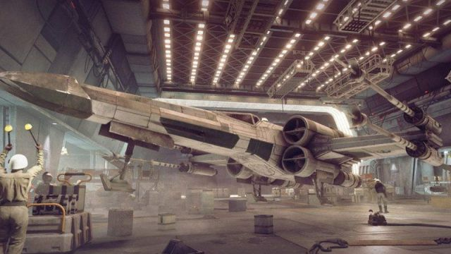 Star Wars Squadrons X Wing Image