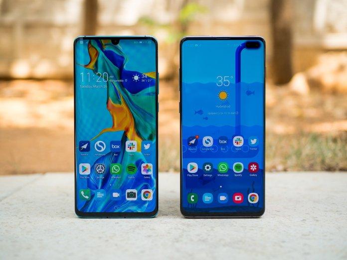 Huawei P30 Pro vs Samsung Galaxy S10