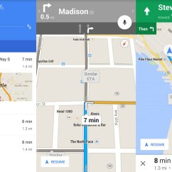 7 Way Navigation Antique Reel Diagram Finding Your Around With Google Maps On Android Central Driving