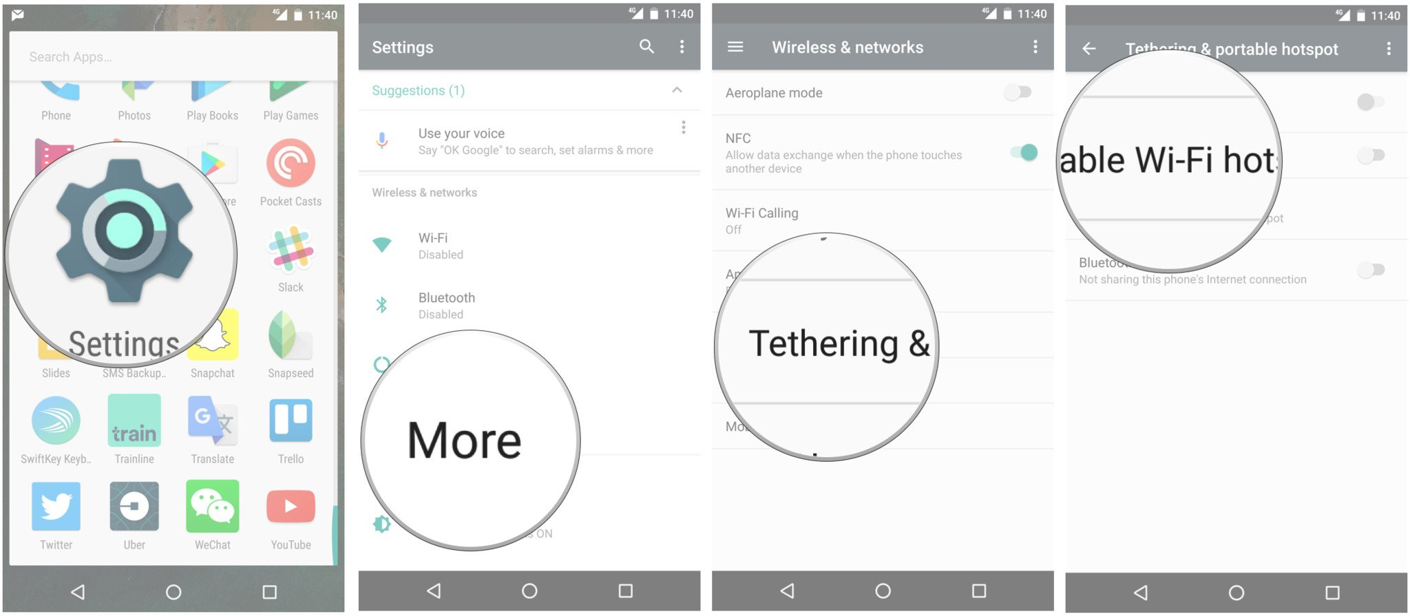 how to configure your wi fi hotspot on your nexus phone [ 1600 x 699 Pixel ]