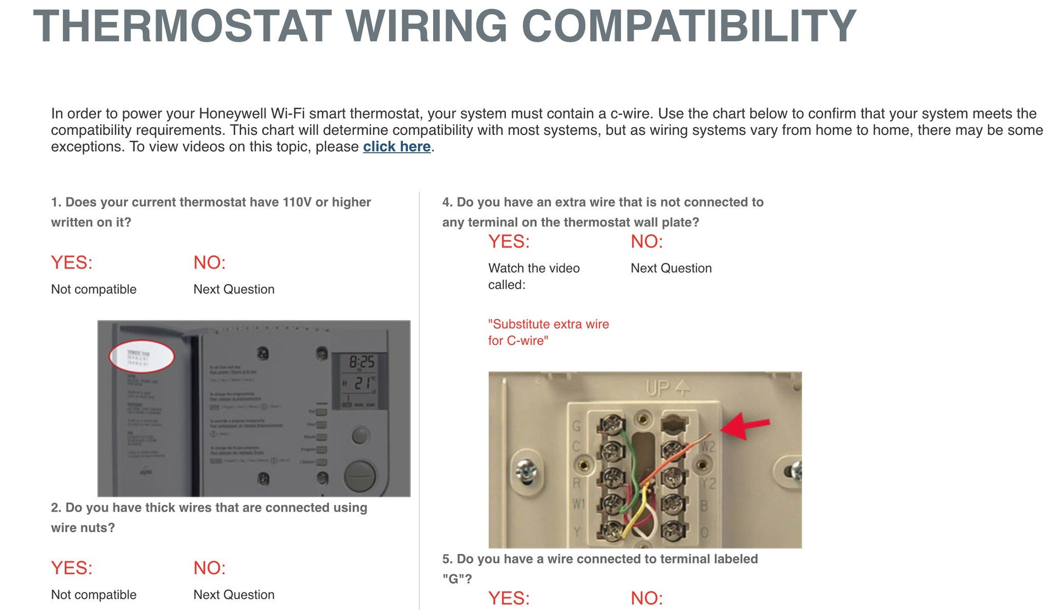 hight resolution of honeywell install