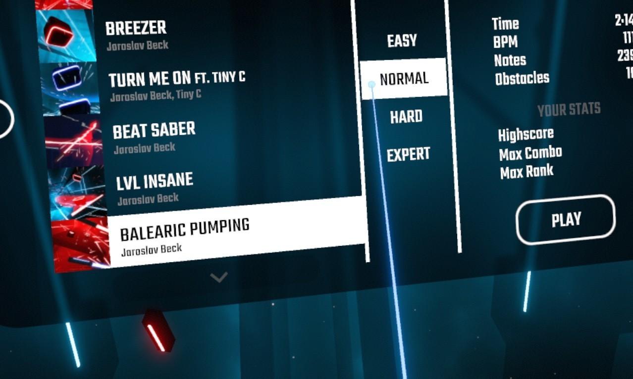 beat saber for playstation