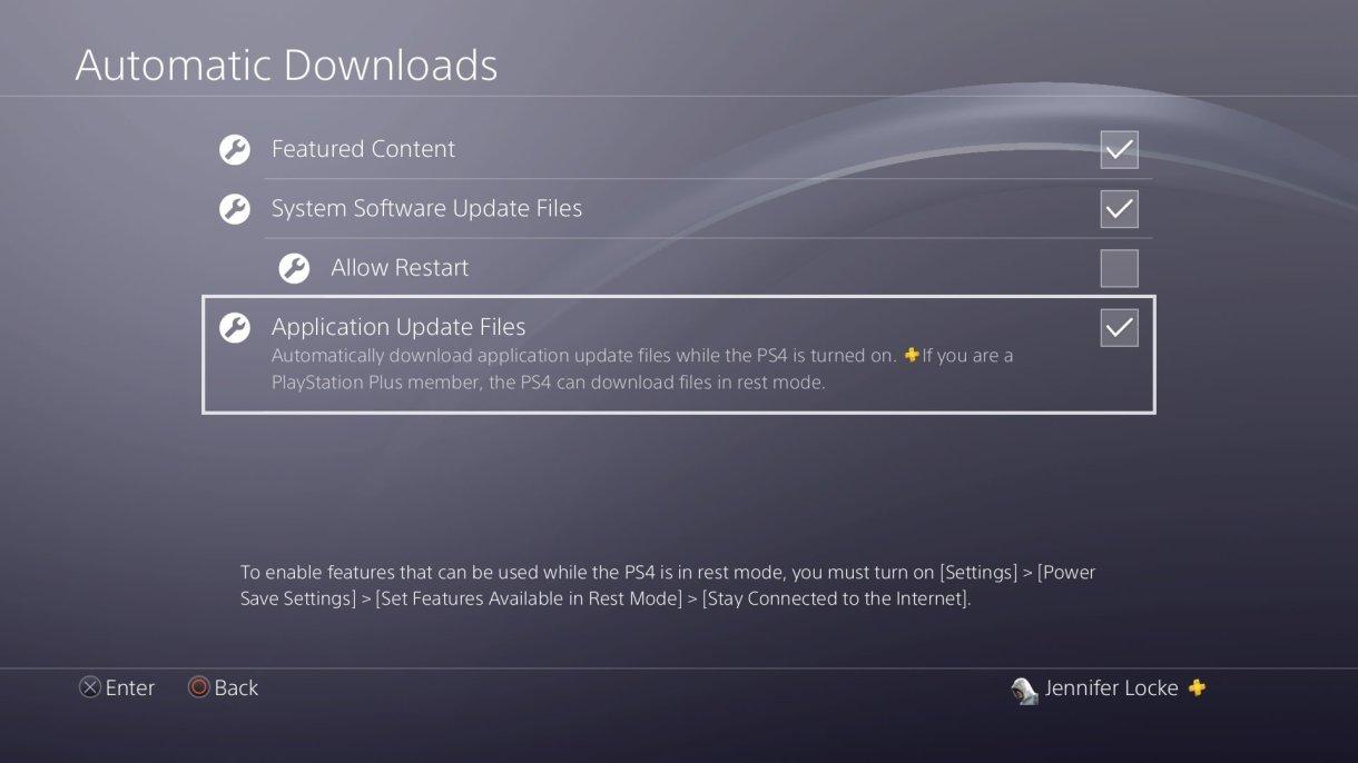 ps4 turn off auto update - تعرف على كيفية منع ألعاب بلايستيشن 4 من التحديثات التلقائية التي تأخذ ساعات