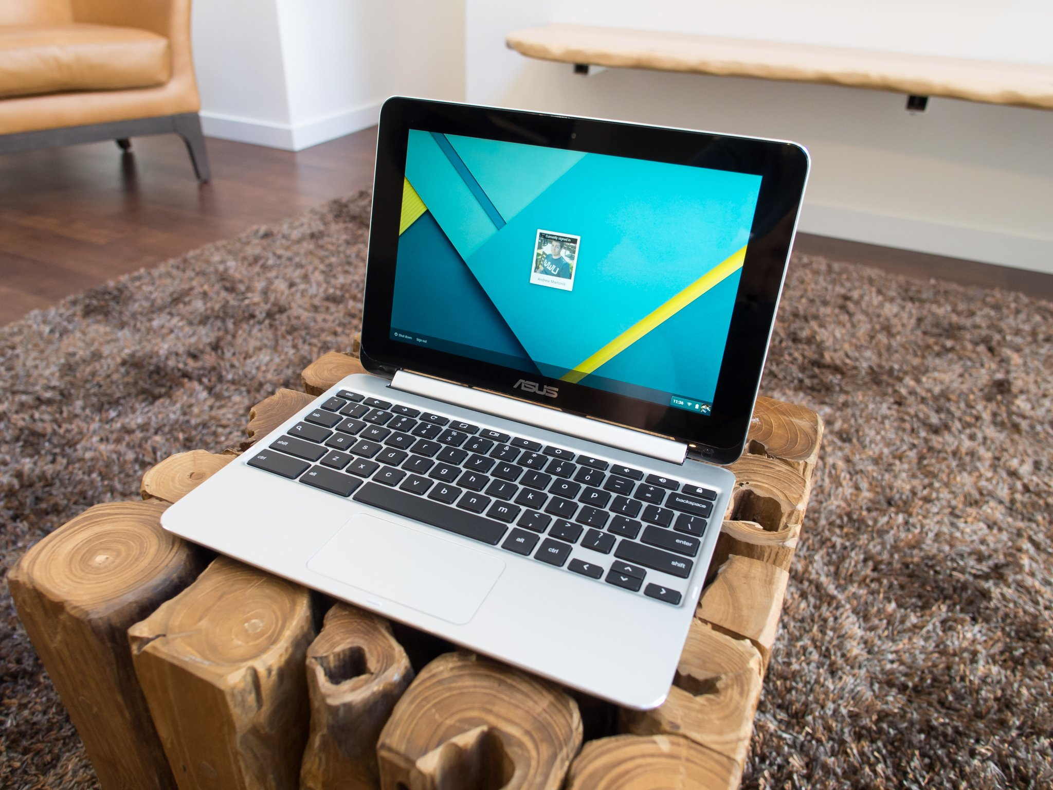 Asus Chromebook Flip C100 Review Android Central