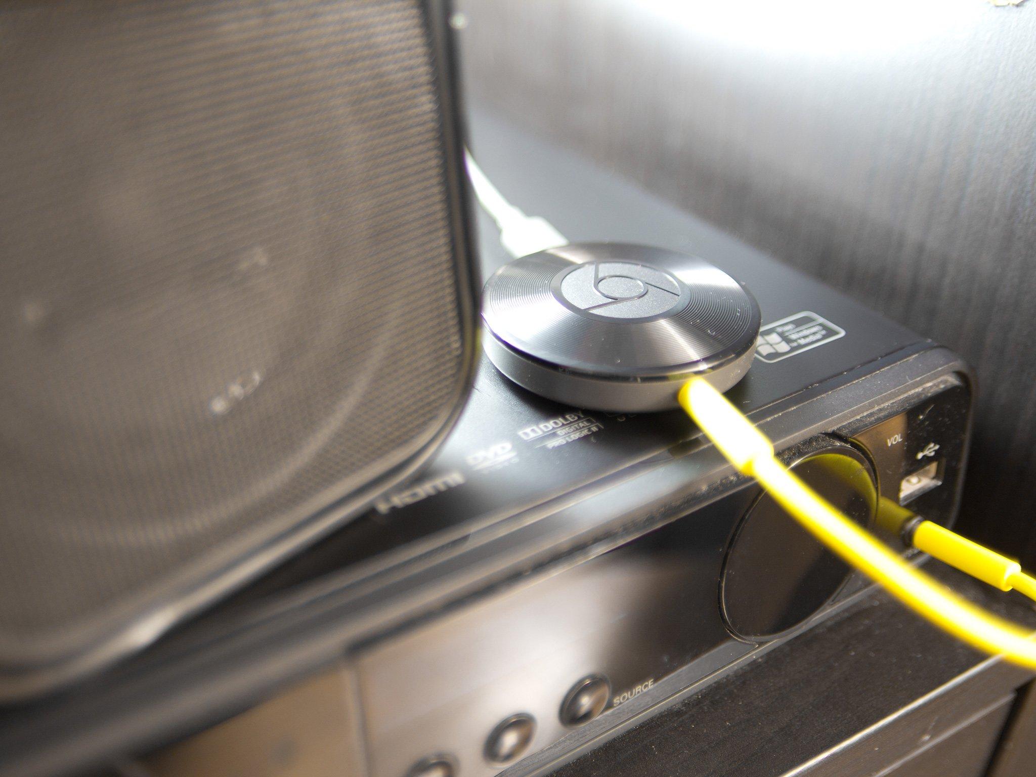 hight resolution of chromecast audio system