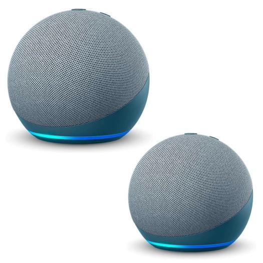 Echo Dot 4 2 Pk