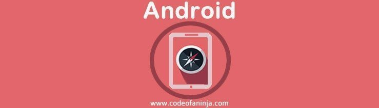 android compass code example