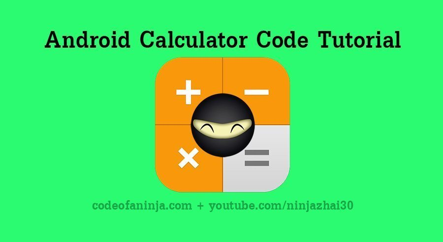android calculator tutorial