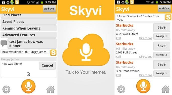 Skyvi - Alternative to siri app