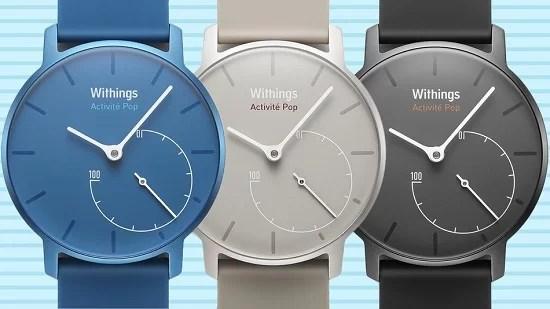Withings'ten Yeni Akıllı Saat: Activité Pop