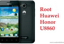 root Huawei Honor U8860