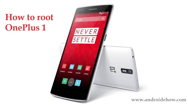 how to root the OnePlus 1