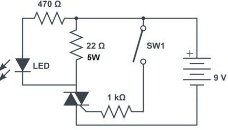 How to test a TRIAC with diode mode?