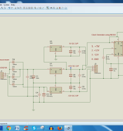 with my regulated power output like 12v 12v 5v with 10 hz to 5khz clock pulse generator with help of ne555 ic circuit power supply circuit diagram  [ 1920 x 1080 Pixel ]